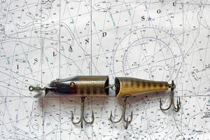 Antique Fishing Lure by Joe Quinn