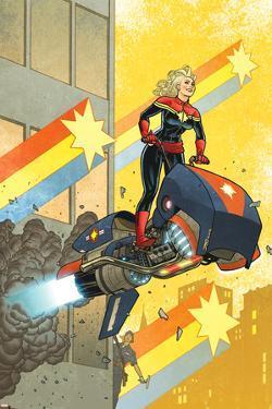 Captain Marvel #12 Cover: Captain Marvel by Joe Quinones