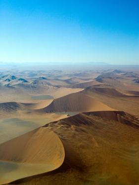Aerial View of Soussevlei Sand Dunes, Namibia by Joe Restuccia III
