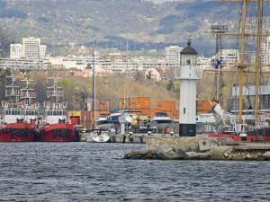 Boat Ride along Coastline, Black Sea, Varna, Bulgaria by Joe Restuccia III