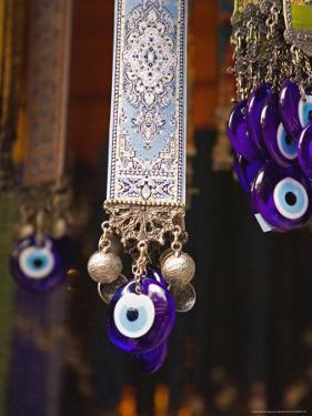Evil Eye Souvenirs Outside Virgin Mary House, Turkey by Joe Restuccia III