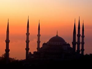 Sunrise Over the Blue Mosque, Istanbul, Turkey by Joe Restuccia III