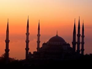 Sunrise Over the Blue Mosque, Istanbul, Turkey by Joe Restuccia III