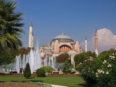 The Hagia Sophia Mosque, Istanbul, Turkey