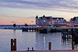 The Town on Mackinac Island, Michigan, USA by Joe Restuccia III