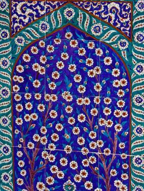 Tile Inside Topkapi Palace, Istanbul, Turkey by Joe Restuccia III