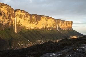 Rainfall During the Night Creates Water on Top of the Tepui by Joe Riis