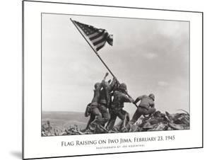Flag Raising on Iwo Jima, c.1945 by Joe Rosenthal