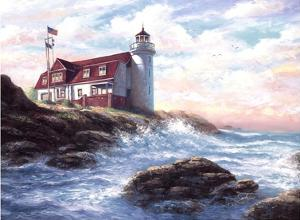 Point Betsie Light by Joe Sambataro