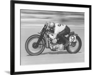 Daytona Beach Motorcycle Races by Joe Scherschel