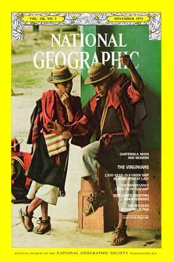 Cover of the November, 1974 National Geographic Magazine by Joe Scherschel Scherschel