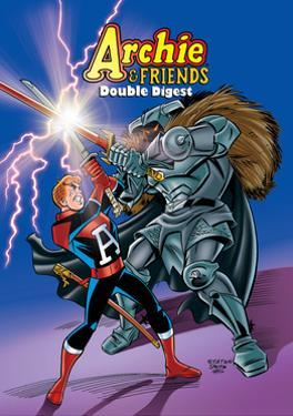 Archie Comics Cover: Archie & Friends Double Digest No.5 Adventures In The Wonder Realm by Joe Stanton
