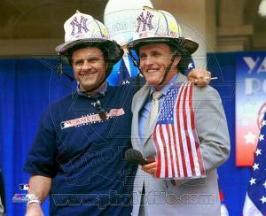 Joe Torre and Mayor Giuliani