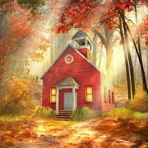 Little Red Schoolhouse by Joel Christopher Payne