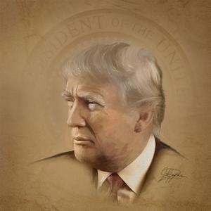 President Trump by Joel Christopher Payne