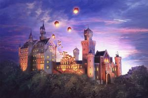 Romance At The Castle by Joel Christopher Payne