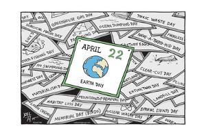 Earth Day. by Joel Pett