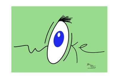 Woke! (green) by Joel Pett