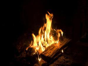 Campfire in Halsey, Ne by Joel Sartore