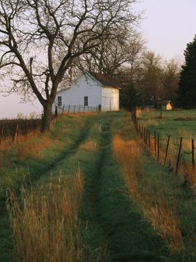 Historic Stevens Creek Farm Near Lincoln, Nebraska by Joel Sartore