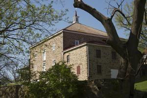 John James Audubon's Boyhood Home at Mill Grove, Near Audubon, Pennsylvania by Joel Sartore