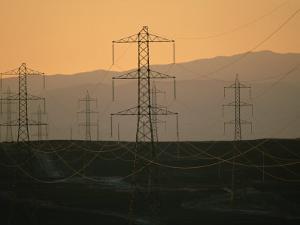 Power Lines Transport Electricity across the Atacama Desert by Joel Sartore