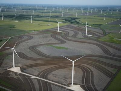 Spinning Turbines Cause a Drop in Air Pressure, Which Can Kill Bats by Joel Sartore