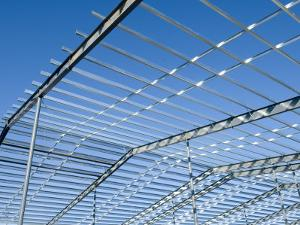 Steel Beam Construction Site, Lincoln, Nebraska by Joel Sartore