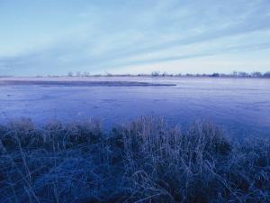 The Platte River in Central Nebraska by Joel Sartore