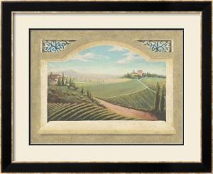Vineyard Window I by Joelle McIntyre