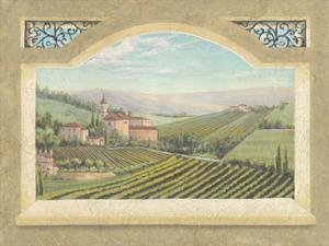 Vineyard Window II by Joelle McIntyre