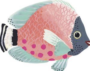 Lagoon Life - Flat Fish by Joelle Wehkamp