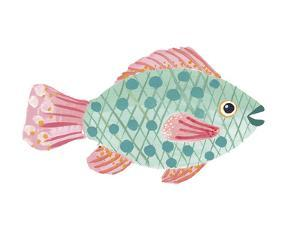 Lagoon Life - Speckled Fish by Joelle Wehkamp