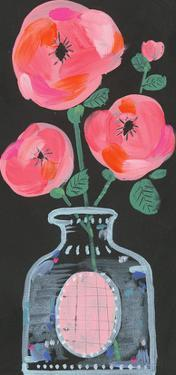 Rosa Blossom Jar by Joelle Wehkamp