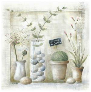 Je Suis au Jardin by Joelle Wolff