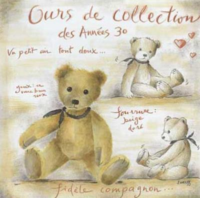 Ours de Collection des Annees 30 by Joëlle Wolff