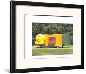 Mobile Home for Kroller Muller, c.1995 by Joep Van Lieshout