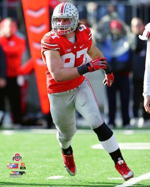 Joey Bosa Ohio State Buckeyes 2014 Action