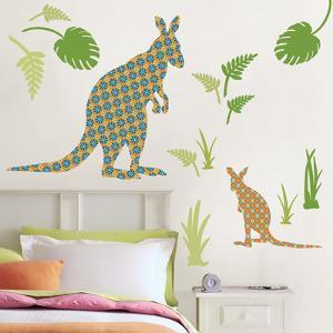 Joey the Kangaroo Wall Art Kit