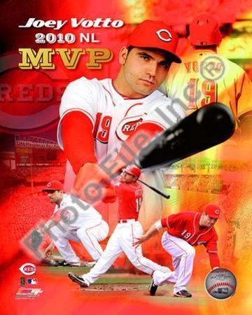 Joey Votto 2010 National League MVP Portrait Plus