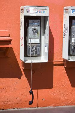 Vandalized Payphone by joeygil