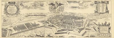 Map of Berlin and Coelln, 1688