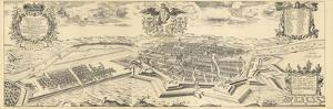 Map of Berlin and Coelln, 1688 by Joh. Bernhard Schultz