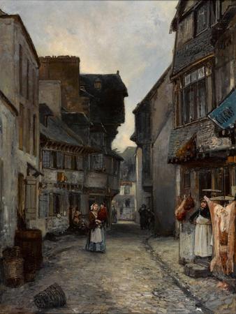 A Street in Landerneau, 1851