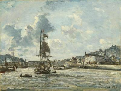 Entrance to the Port of Honfleur, 1863-64