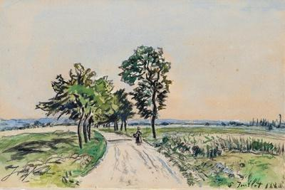 The Cote St. Andre to Grand Lemps Road, 1880