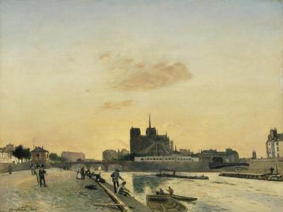 View of Notre Dame, Paris, 1864