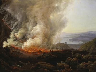 Vesuv Volcanic Eruption, 1826