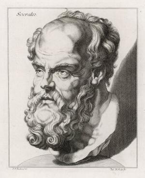 Socrates Greek Philosopher by Johan H. Lips
