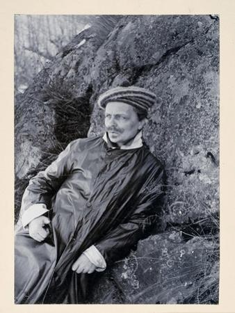 August Strindberg by Johan Lundgren